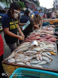 Routine Fish Inspection and Monitoring Operations in the Month of June 2021